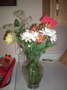 pretty flowers from my Grams